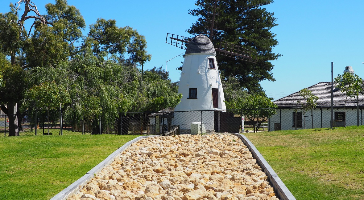 A view of the South Perth mill